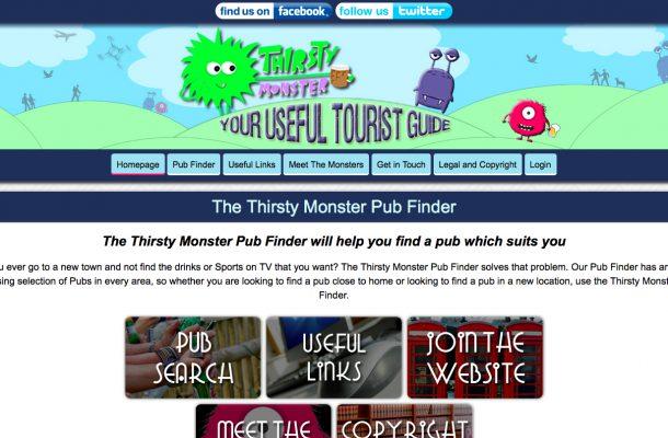Thirsty Monster Pub Finder